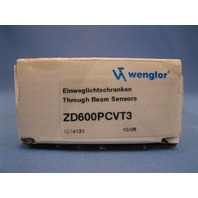 Wenglor  ZD600PCVT3 Through Beam Sensor new