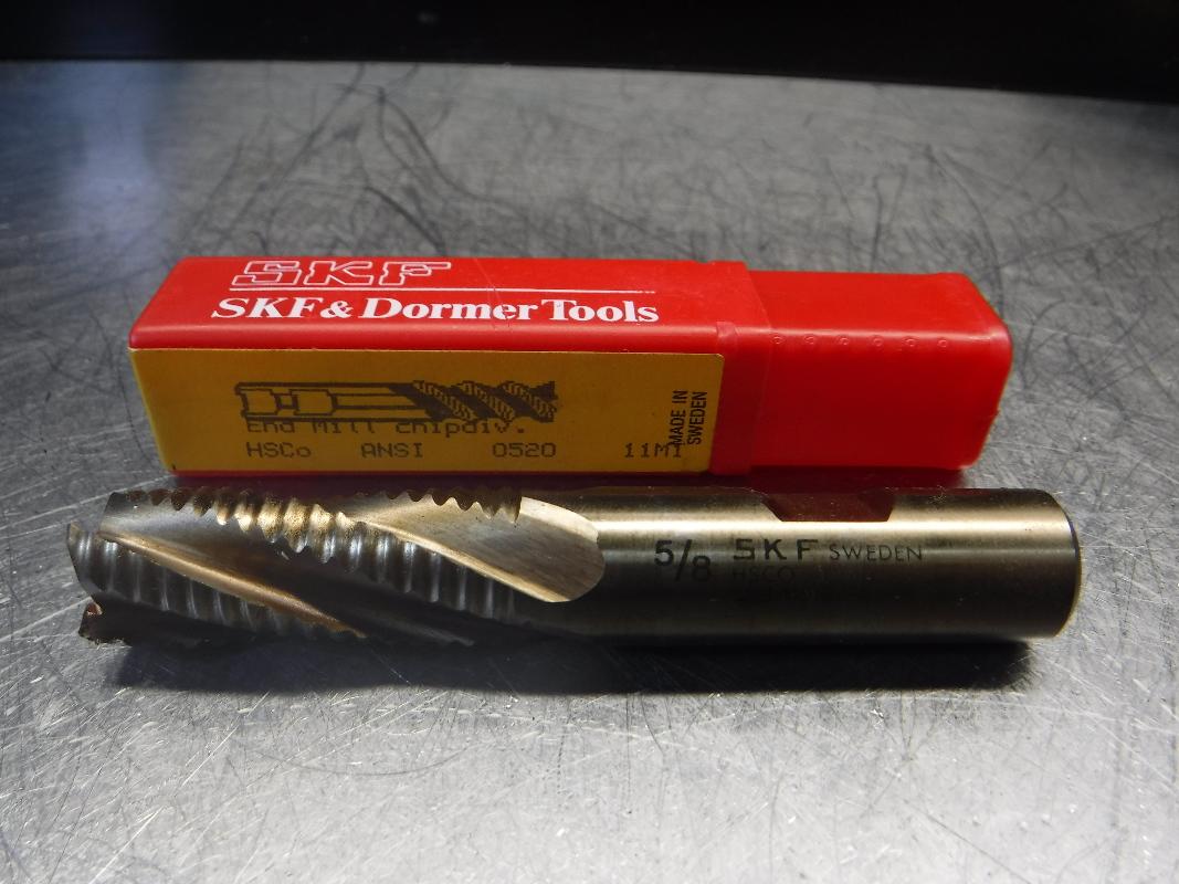 """SKF 5/8"""" Colbalt Roughing Endmill C415 5/8 (LOC1838A)"""