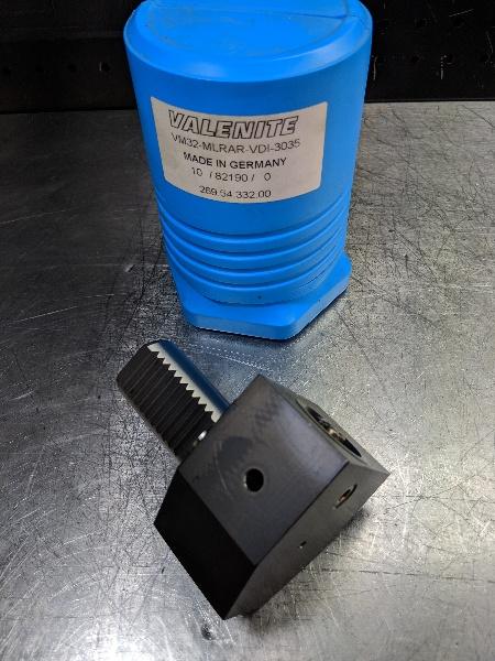 Valenite VDI30 to KM32 90 Degree Clamping Unit VM32-MLRAR-VDI-3035 (LOC2000B)