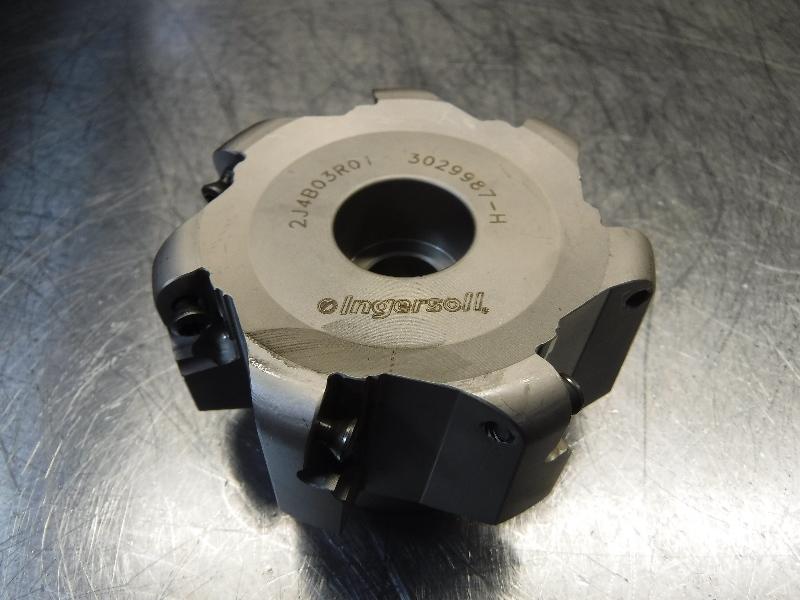 "LOC2367 Ingersoll V MAX 3/"" Indexable Facemill 1/"" Arbor 6K6V 03R01"