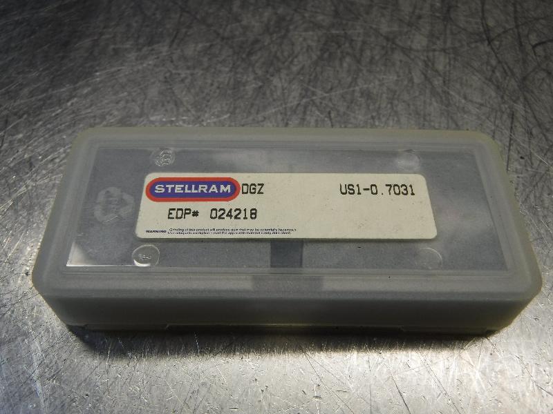 """Stellram #1 T-A 0.7031"""" Spade Drill Insert QTY2 US1-0.7031 (LOC304)"""
