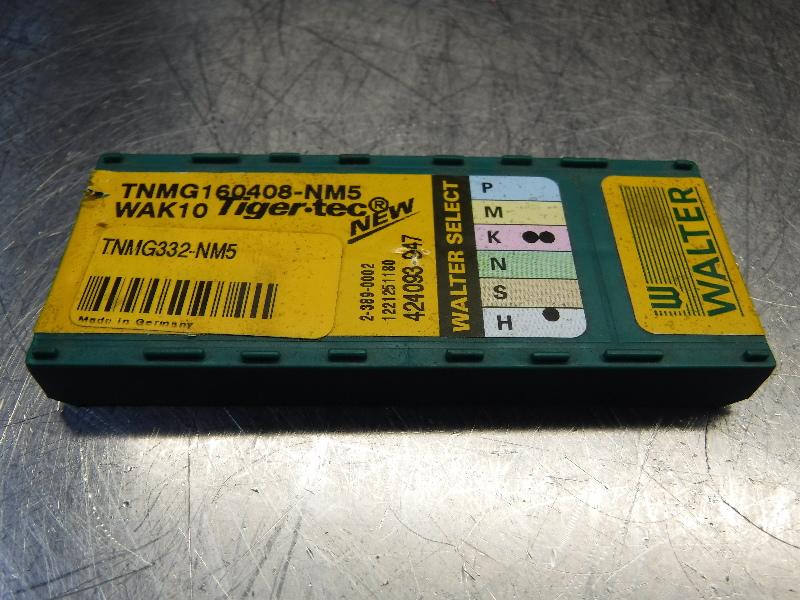 Walter Carbide Inserts QTY10 TNMG160408-NM5 WAK10 (LOC318A)