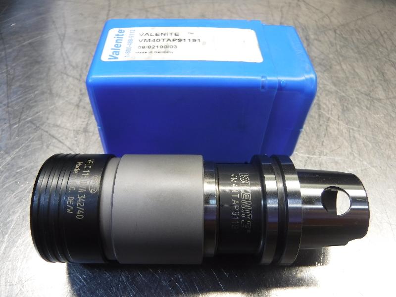 Valenite VM40 / KM40 BILZ#1 Rigid Tapping Chuck VM40TAP91191 (LOC348A)