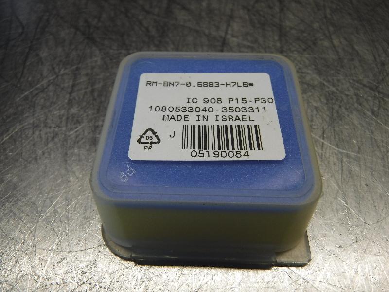 Iscar BAYO T-REAM Carbide Reamer Head RM-BN7-0.6883-H7LB IC908 (LOC365)