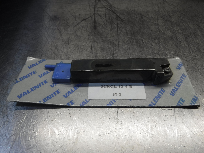 "Valenite 3/4"" Lathe Tool Holder 4.50"" OAL SCRCL-12-4 B (LOC534)"