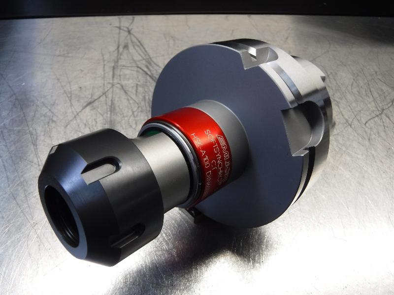 Emuge HSK100A ER32 Rego-Fix Synchro-Flex Collet Chuck DIN69893 (LOC805)