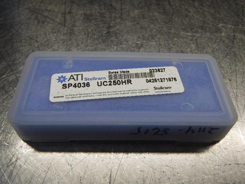 Stellram #2 Carbide Spade Drill Inserts QTY2 UC250HR SP4036 (LOC807)