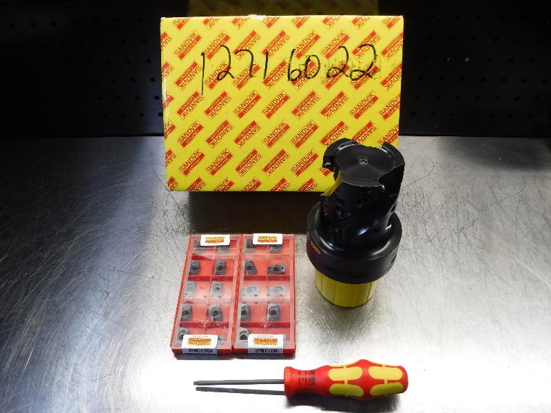 Sandvik Capto C8 63mm Indexable Milling Cutter R390-063C8-57L (LOC928A)