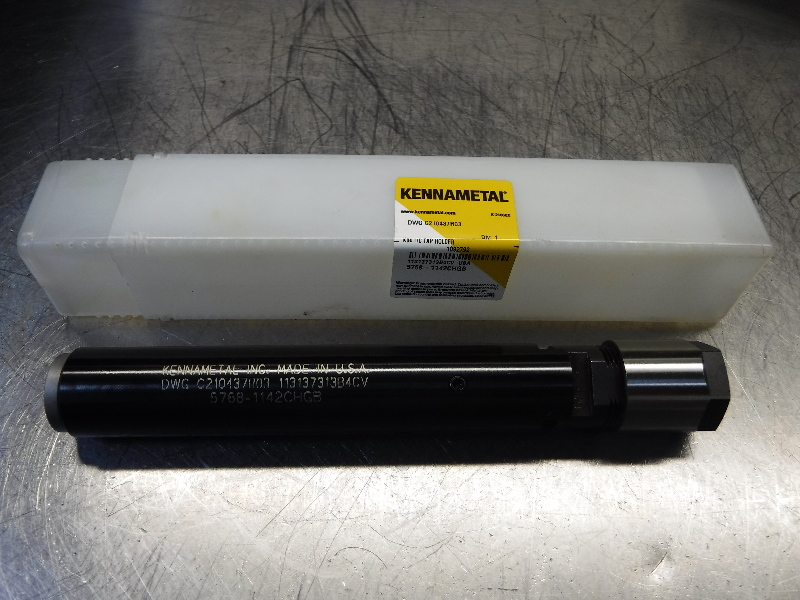 """Kennametal Tension Compression Collet Extension 1"""" Shank DWG C210437R03 (LOC933B)"""