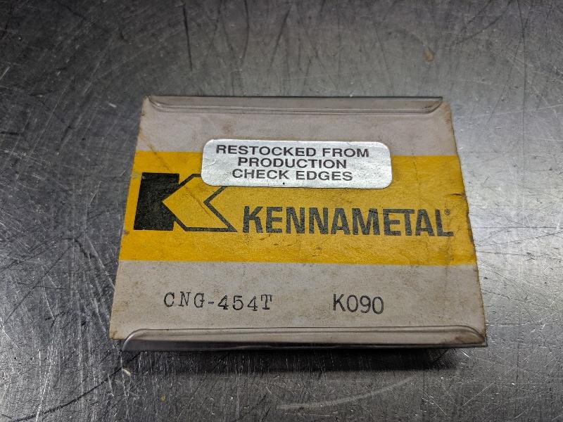 Kennametal Ceramic Insert QTY: 5 CNG 454T K090 (LOC2990B)