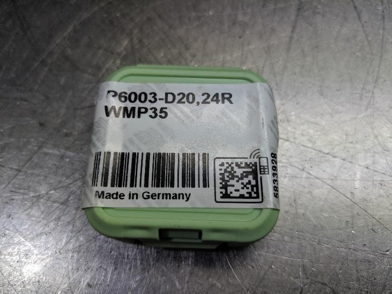 Walter Carbide Drill Insert QTY:1 P6003-D20,24R WMP35 (LOC2983B)