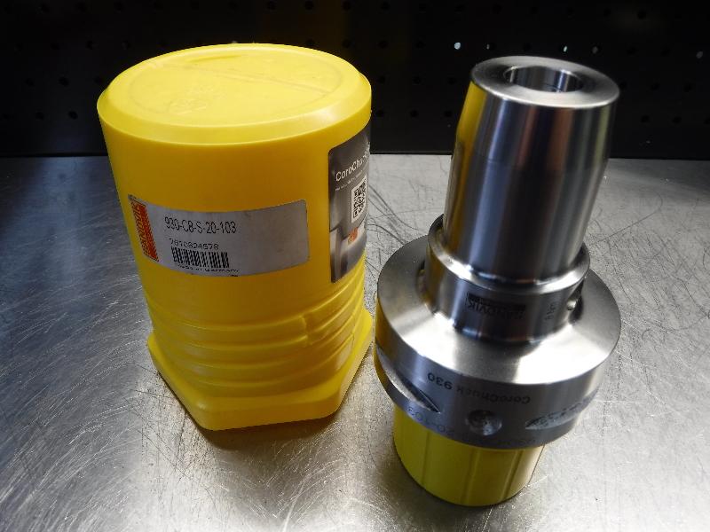 Sandvik Capto C8 20mm Hydraulic Endmill Holder 930-C8-S-20-103 (LOC983D)