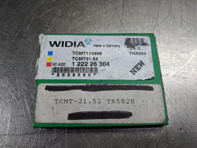 Widia Carbide Inserts QTY:10 TCMT 110208 / TCMT 21.52 TN5020 (LOC2979B)