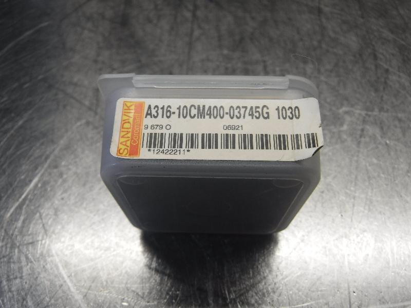 Sandvik EH E10 Carbide Chamfer Drill Head A316-10CM400-03745G 1030 (LOC987B)