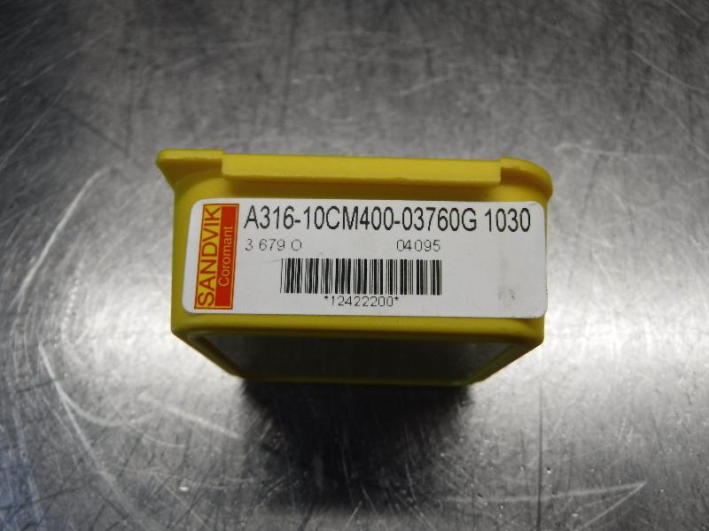 Sandvik EH E10 Carbide Chamfer Drill Head A316-10CM400-03760G 1030 (LOC987B)