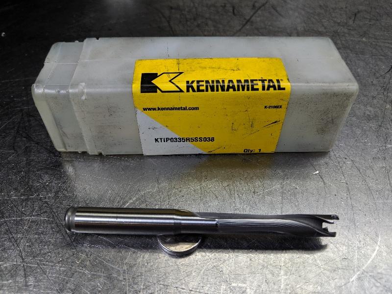 """Kennametal 13mm-13.5mm KenTip Drill 9//16/"""" Shank KTIP0512R3SS056 LOC2950A"""