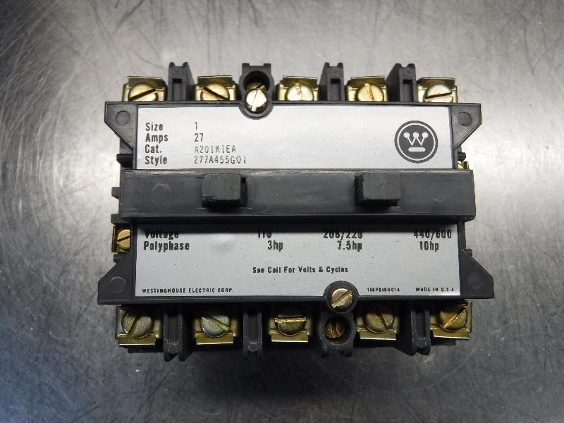 Westinghouse AC Magnetic Contactor A201KIEA (LOC1048C)