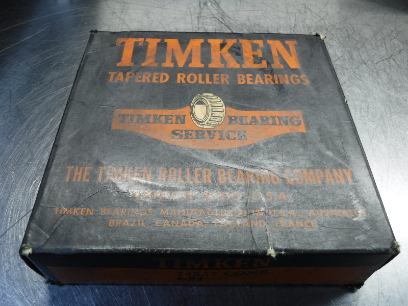 Timken Tapered Roller Bearing 74537 Cone 4-24 (LOC1118A)