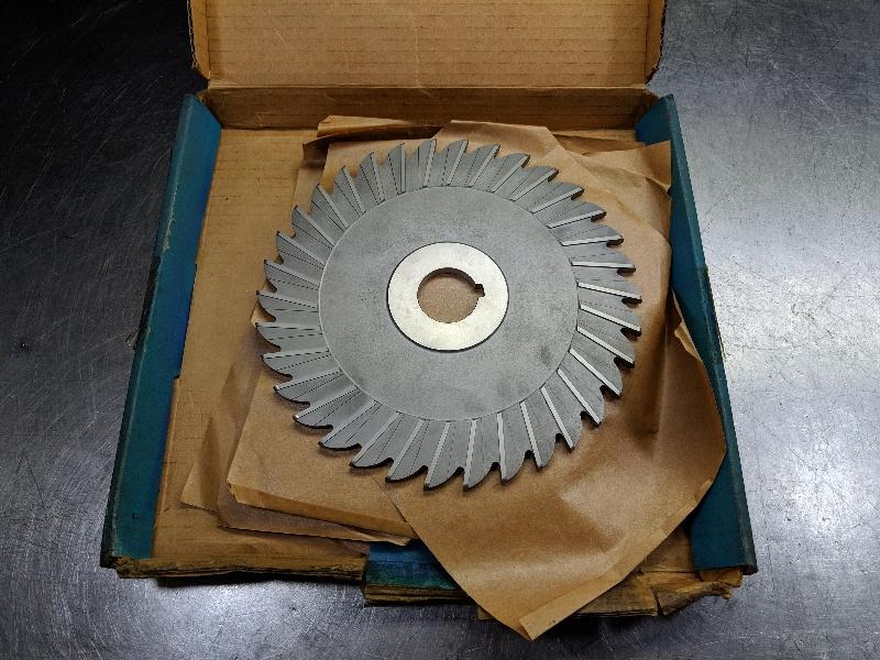 """USA 8"""" x 1/4"""" x 1.25"""" HSS Slot Milling Cutters Qty2 (LOC2791A)"""