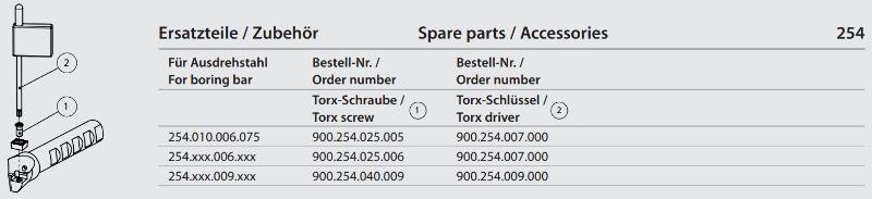 Torx-Screw M2.5 x 5 900.254.025.005