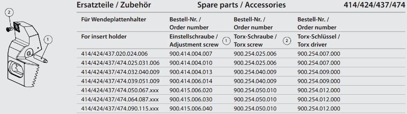 Torx screw M5x10 900.254.050.010