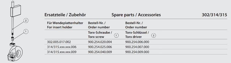Torx driver T6 900.254.006.000