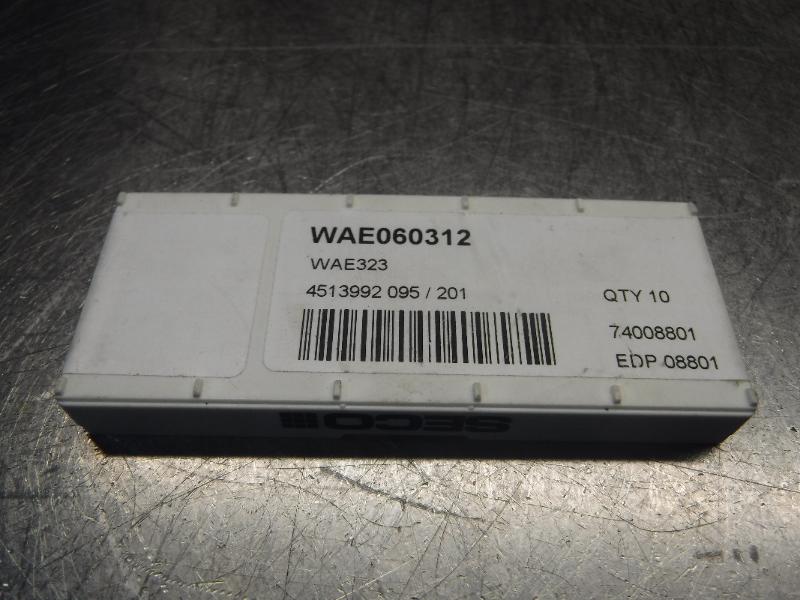 Seco Insert Shims QTY10 WAE060312 / WAE323 (LOC1184A)