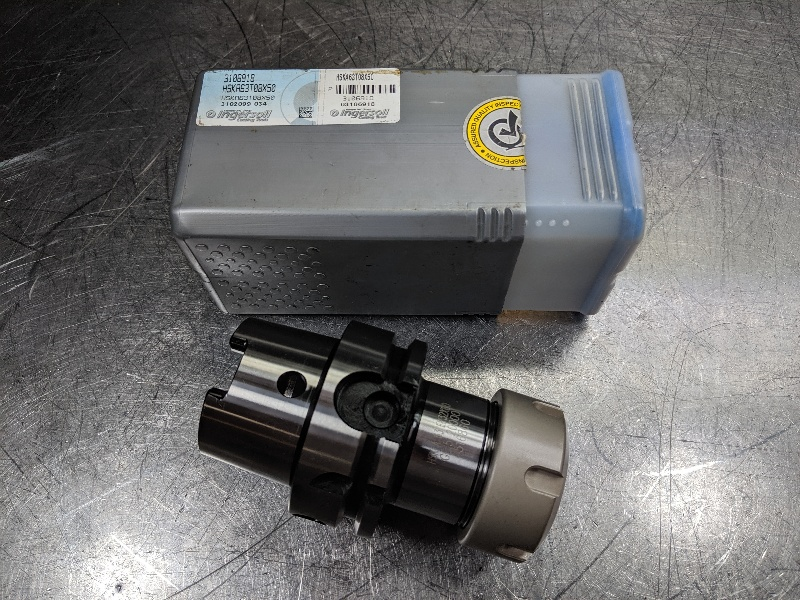 Ingersoll HSK63A ER32 Collet Chcuk 80mm Projection HSKA63ER32X80 (LOC2868D)