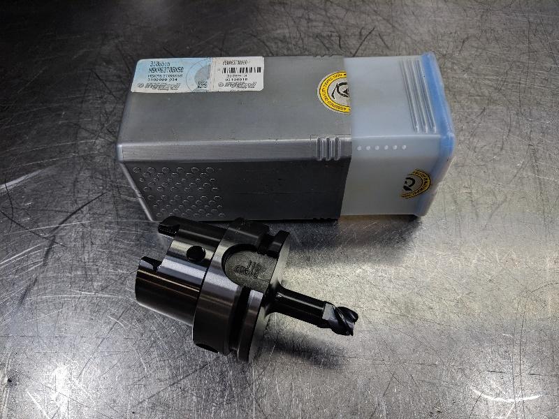 Ingersoll HSK63A T08 Endmill Holder 50mm Projection HSKA63T08X50 (LOC2868D)