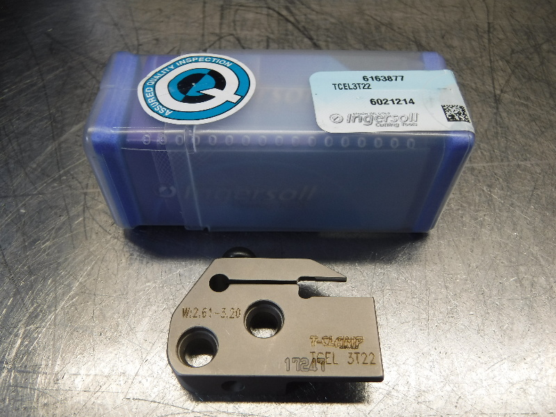 Ingersoll T-Clamp Turning / Grooving Head TCEL3T22 (LOC1239A)