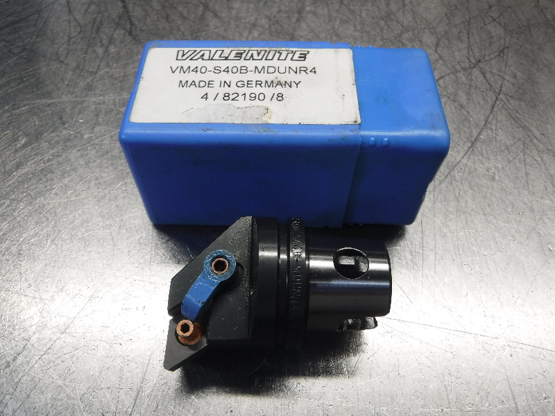 Valenite VM40 / KM40 Indexable Turning Head VM40-S40B-MDUNR4 (LOC1246A)