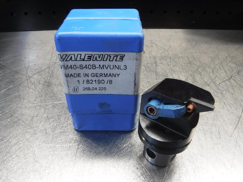 Valenite VM40 / KM40 Indexable Turning Head VM40-S40B-MVUNL3 (LOC1248A)