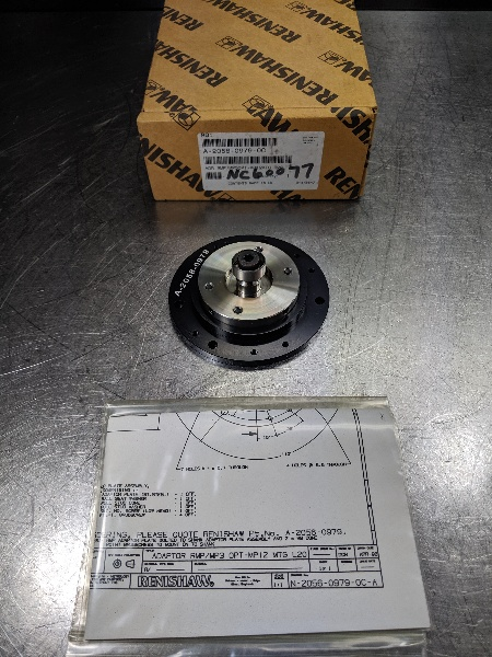 Renishaw 19.5mm Adapter Plate A-2056-0979 (LOC2861A)