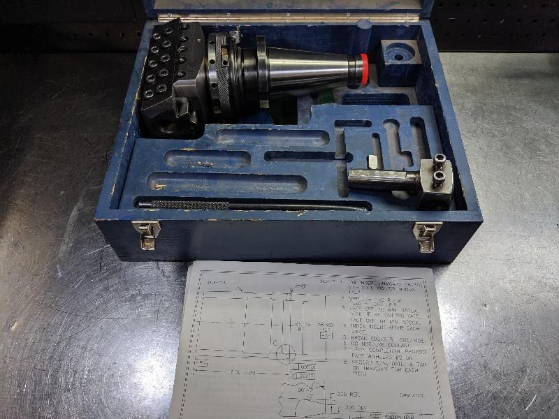 Wohlhaupter Universal Holder Head w/ NMTB50 UPA5-S6 (LOC2857B)