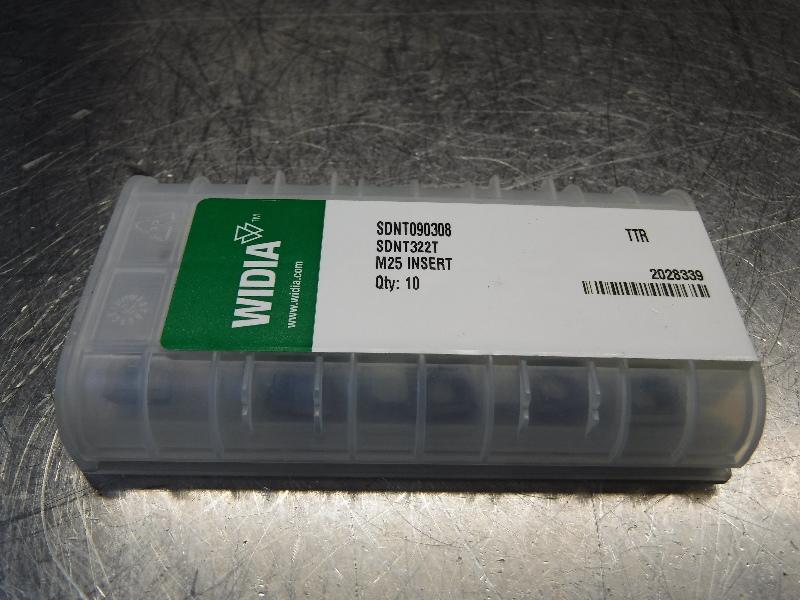 Widia Carbide Inserts QTY10 SDNT090308 / SDNT322T TTR (LOC1253C)