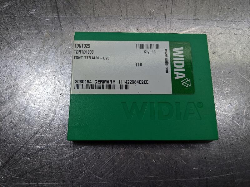 Widia Carbide Insert QTY:10 TDNTD1000 / TDNTD25 TTR (LOC2767A)