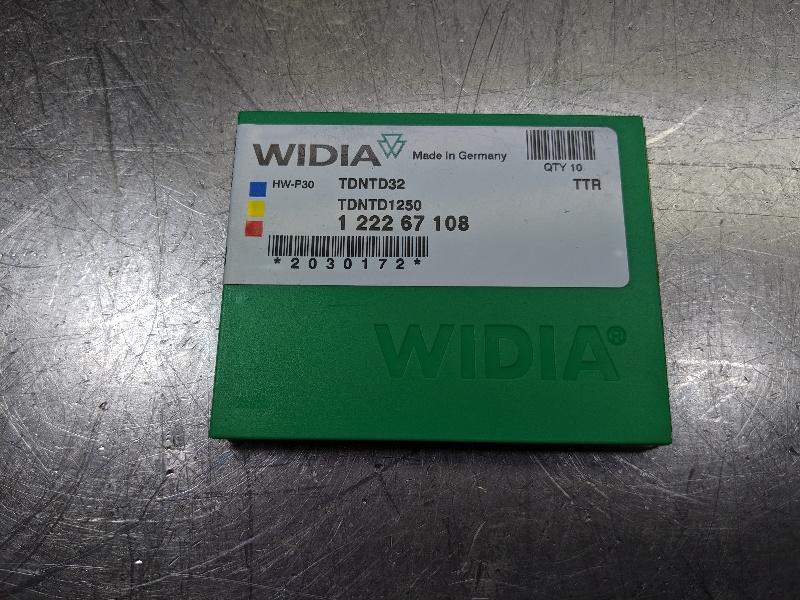 Widia Carbide Insert QTY:10 TDNTD1250 / TDNTD32 TTR (LOC2767A)