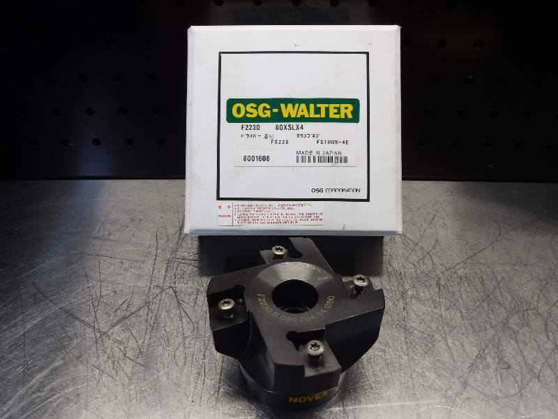 Walter 80mm Indexable Facemill 27mm Arbor F2230.B.080.Z04.14 (LOC1254B)