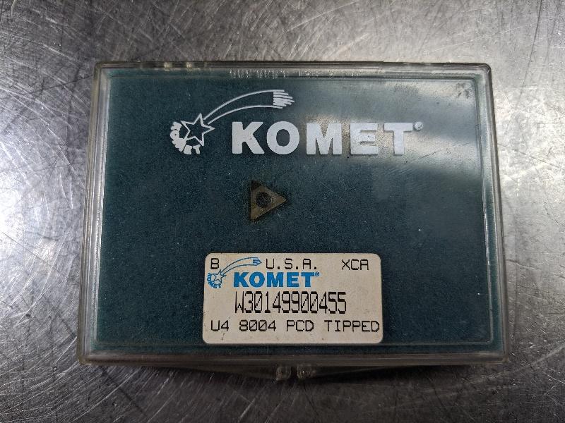 Komet PCD Carbide Insert QTY:1 W3014990045 (LOC2804B)