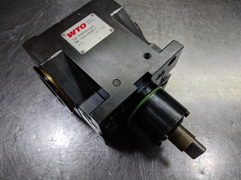 WTO Mori Seiki 60 Right Angle Double Spindle Capto C4 410504041-60 (LOC2713B)