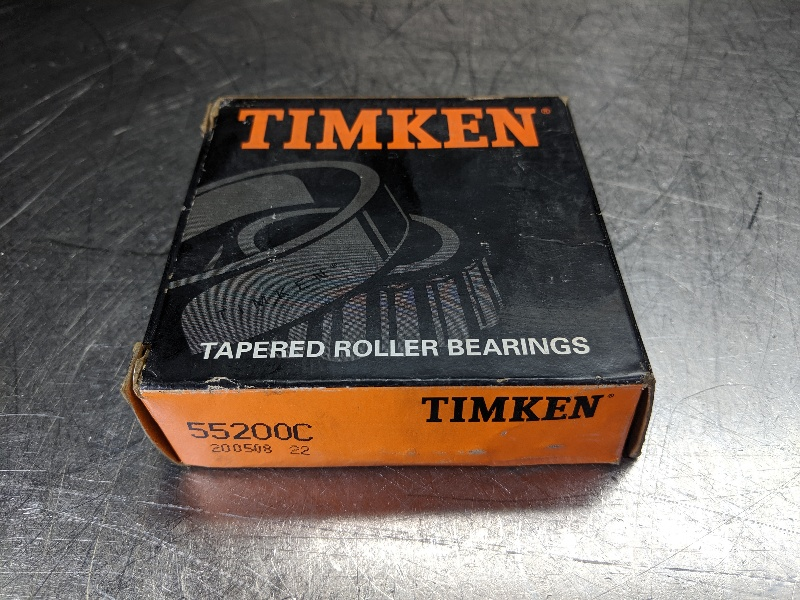 "Timken Tapered Roller Baring Cone 2"" ID 55200C (LOC2712A)"