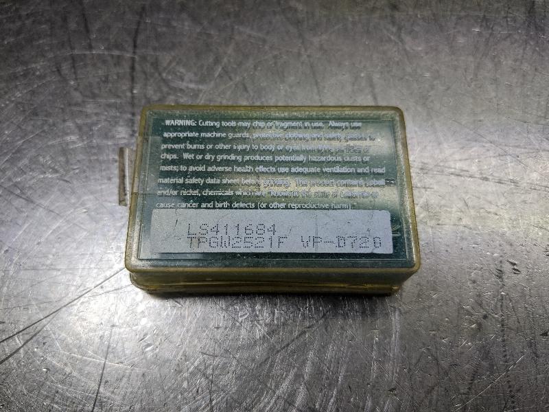 Valenite Carbide Insert PCD QTY:2 TPGW 2521F VPD720 (LOC2711A)