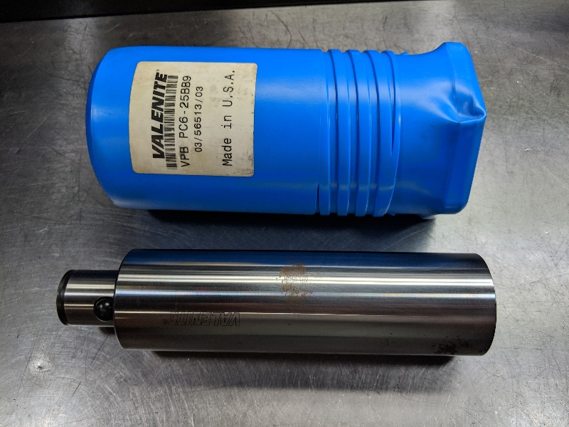 "Valenite PC6 / KAB6 64mm Blank 8.75"" Length VPB PC6-25BB9 (LOC2830B)"