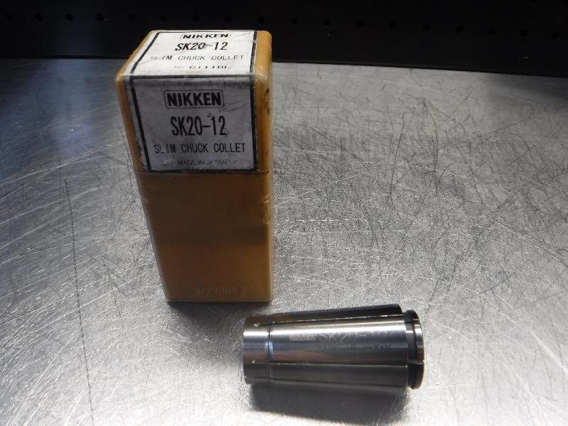 Nikken SK20 12mm Slim Chuck Collet SK20-12 (LOC1464)