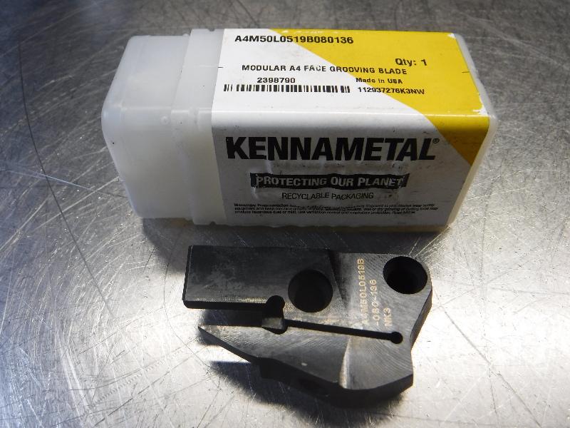 Kennametal Modular A4 Face Grooving Blade A4M50L0519B080136 (LOC1466)