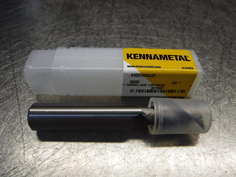 """Kennametal 1/2"""" Solid Carbide Square Endmill AADF0500J2F K600 (LOC1492)"""