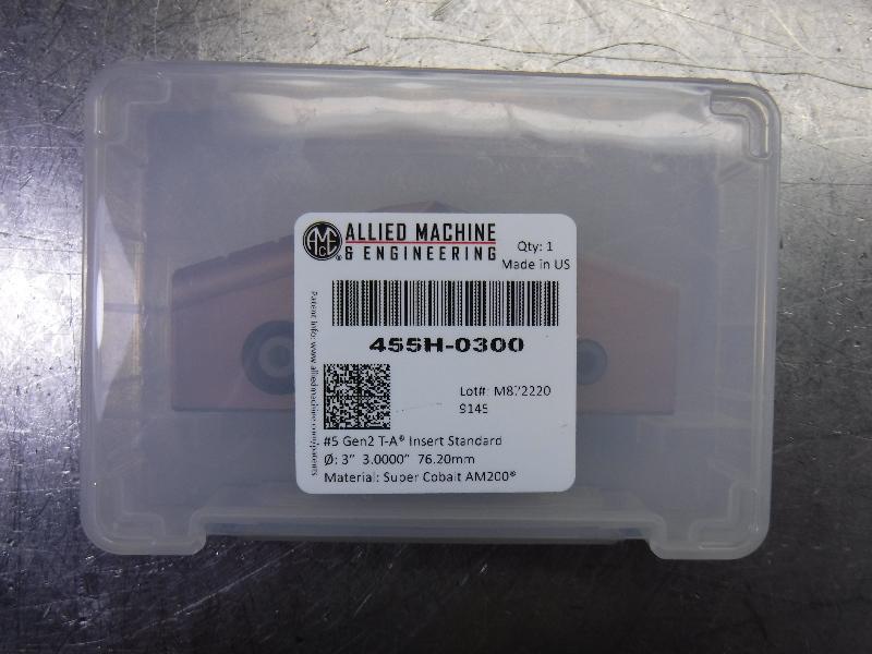 """AMEC #5 T-A 3"""" Spade Drill Insert QTY1 455H-0300 (LOC1903A)"""