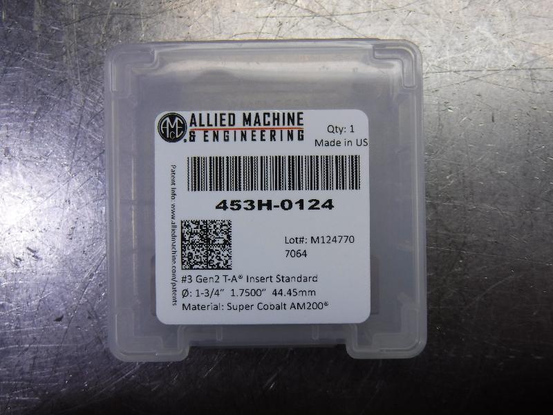 """AMEC #3 T-A 1.75"""" Spade Drill Insert QTY1 453H-0124 (LOC1903A)"""