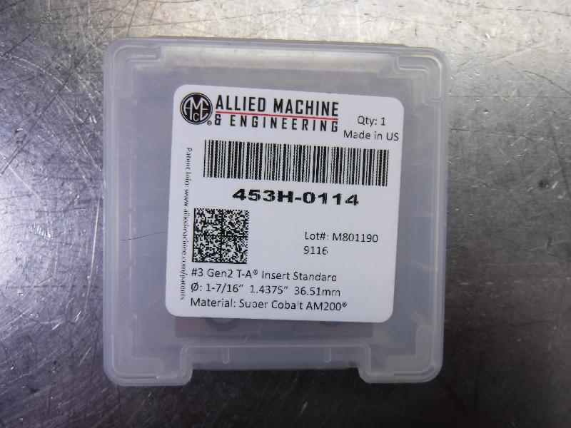 """AMEC #3 T-A 1.4375"""" Spade Drill Insert QTY1 453H-0114 (LOC1903A)"""
