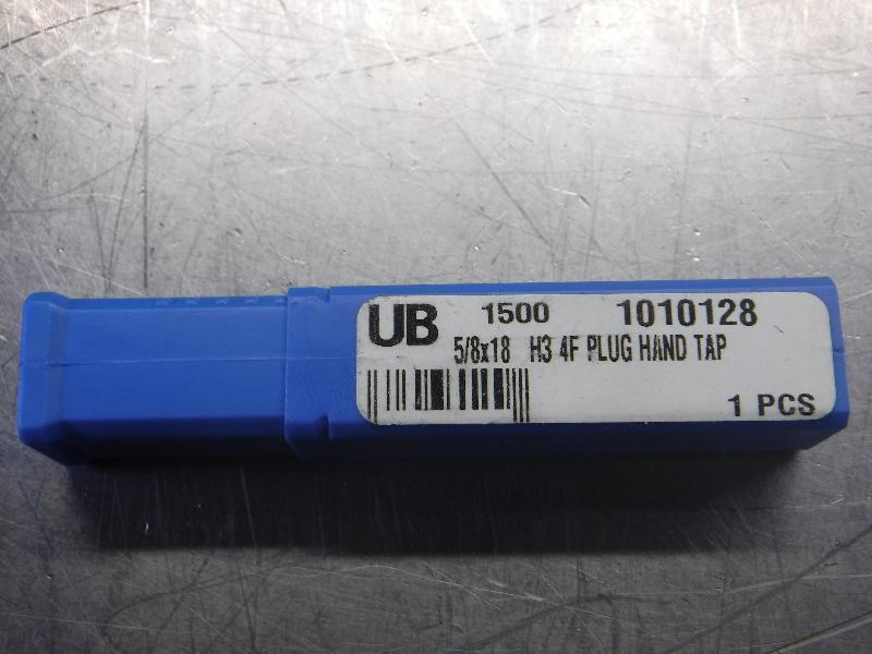 """Union Butterfield 5/8""""x18 H3 4F Plug Hand Tap (LOC1068B)"""